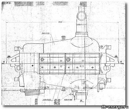 Сборочный чертеж - Корпус внешний ЦВД турбины К-500-240-2 ХТГЗ